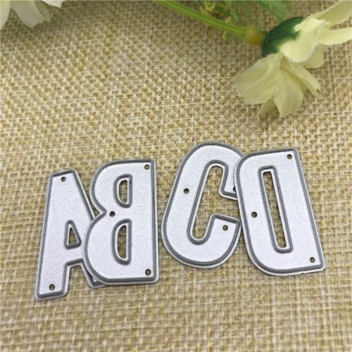Alphabet Stencils 26PC Metal Dies