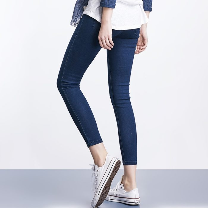 Ladies Jeans Casual Denim Trousers