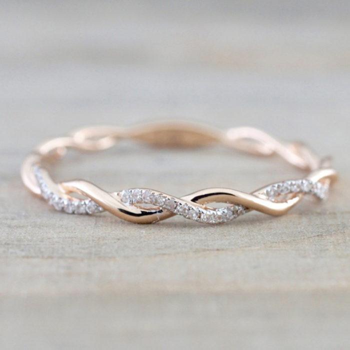 Engagement Rings Wedding Cubic Zirconia