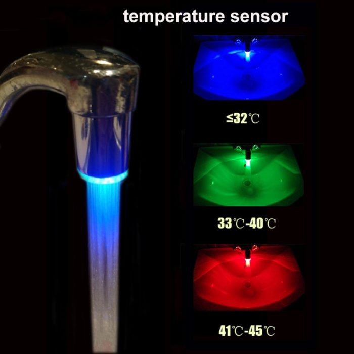 Water Faucet LED Light Feature