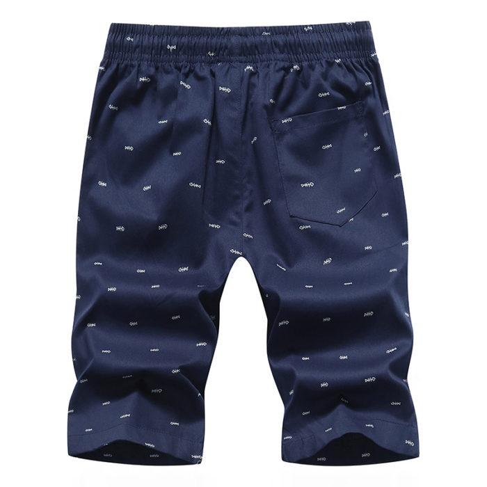 Bermuda Shorts Men Printed Design