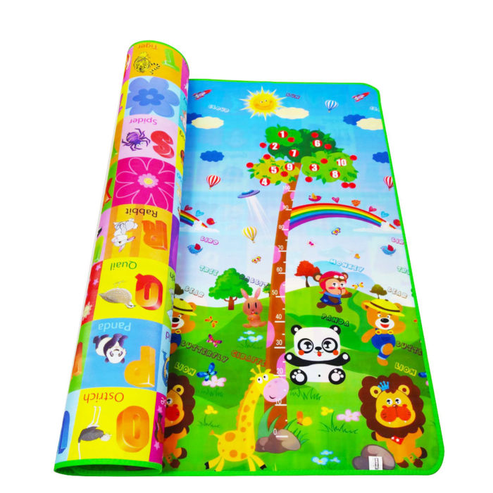 Baby Crawling Mat Educational Designs