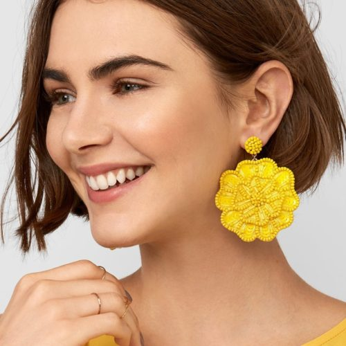 Ladies Earrings Fashionable Design