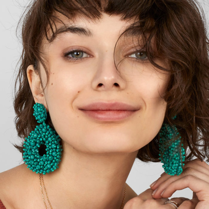 Ladies Earrings Fashionable Design