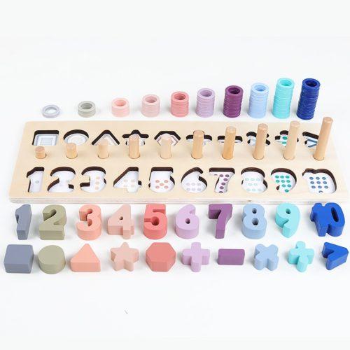 Montessori Toys Wooden Material
