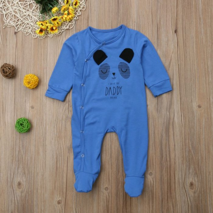 Baby Sleepsuits Long Sleeve Romper