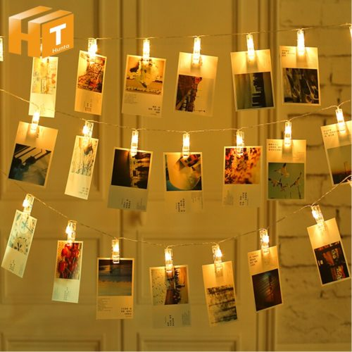 Fairy Lights Bedroom Photo Decor