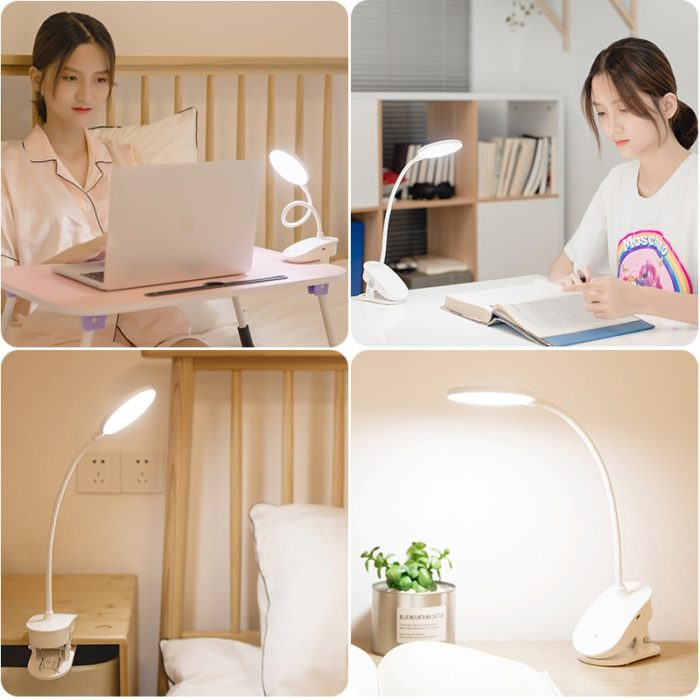 Clip On Lamp Reading Assistant