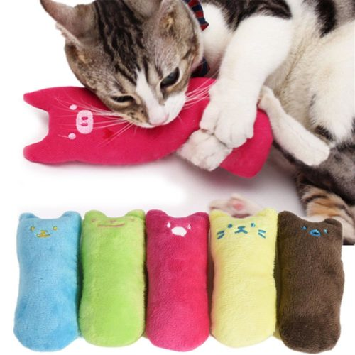 Cat Pillow Scratch Pet Toys