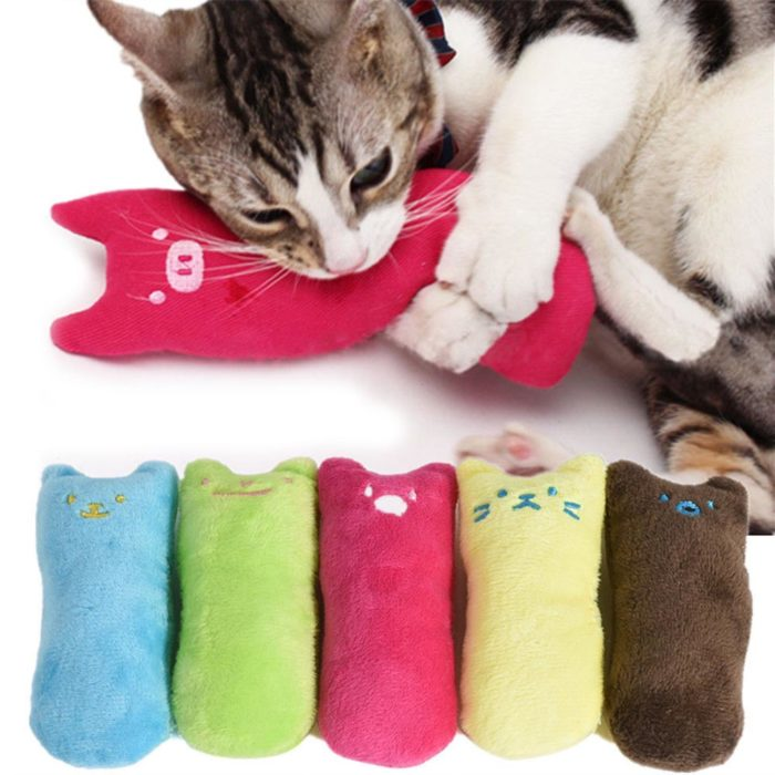 Cat Pillow Scratch Pet Toys