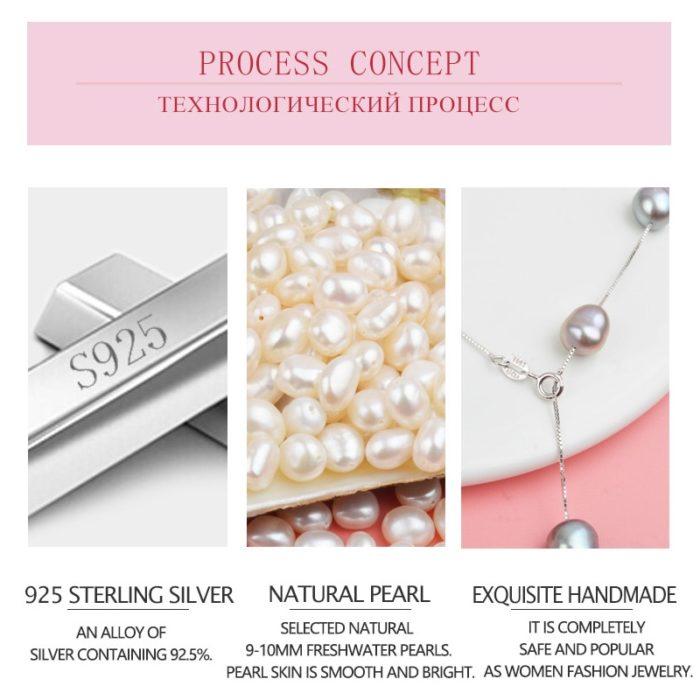Baroque Pearls Fashionable Necklace