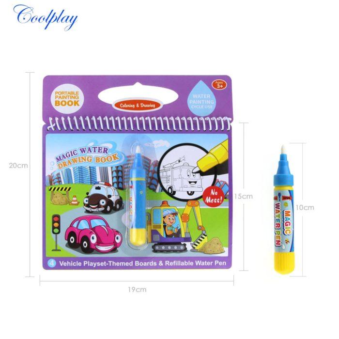 Toddler Toys Magic Drawing Book