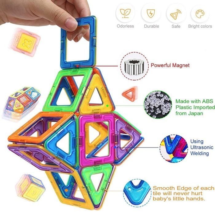 Magnetic Blocks Construction Toy