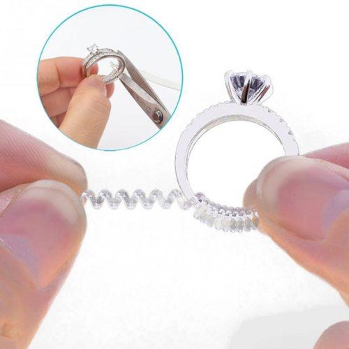 Ring Size Adjuster Spiral Tightener