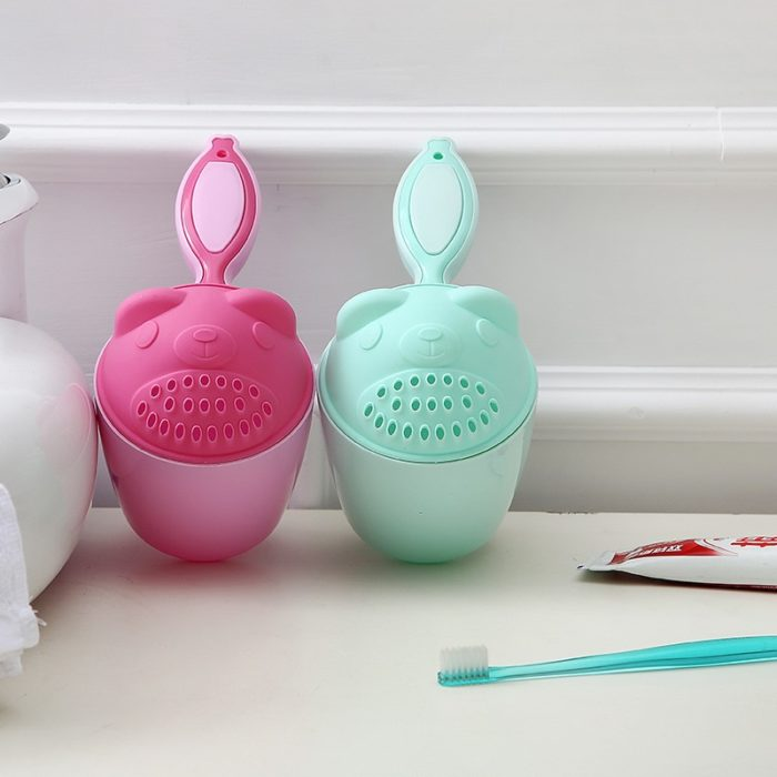 Baby Bath Cap Water Scoop Sprinkler