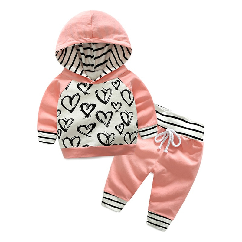 Baby Girl Outfits Hoodie And Pants