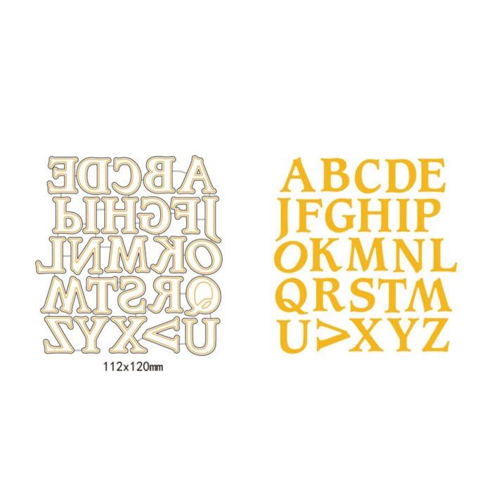 Letter Stencils Metal Cutting Dies