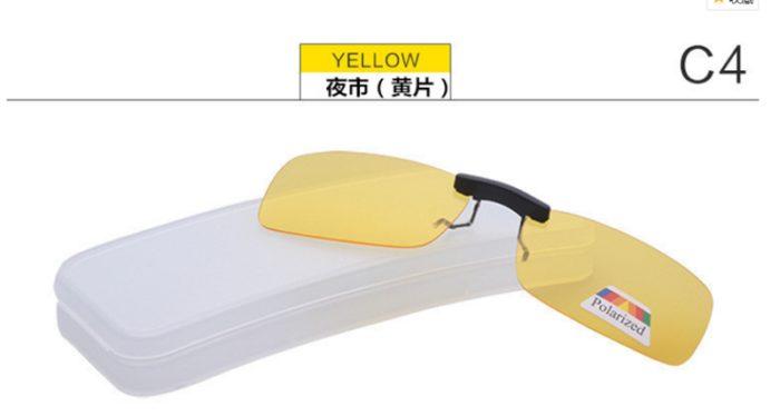 Clip On Sunglasses Polarized Eyewear