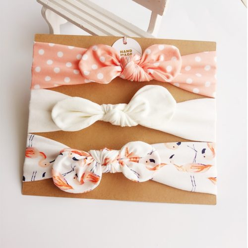Baby Hair Bows Headband 3PC Set