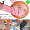 Rubber Gloves Multifunctional Scrubber