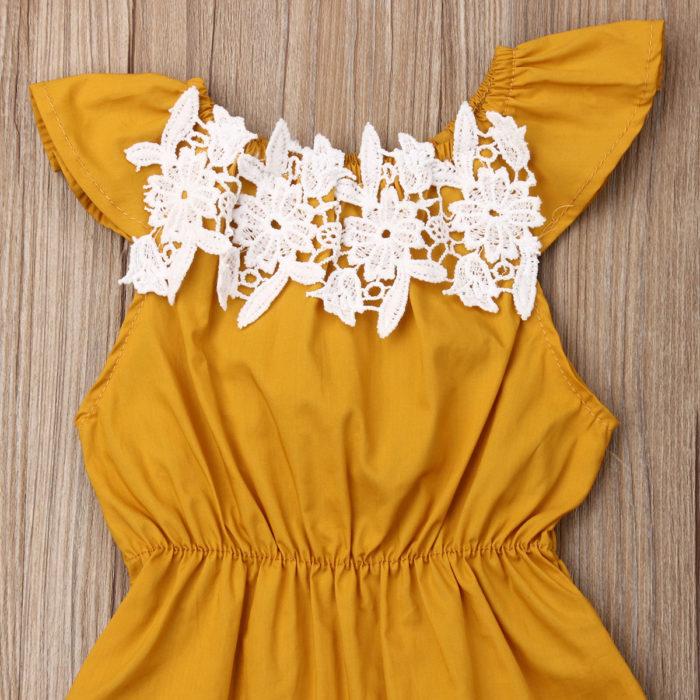 Baby Girl Onesies Casual Wear