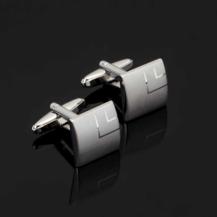 Engraved Cufflinks Fashion Accessories