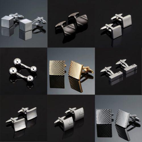 Engraved Cufflinks Fashion Accessories