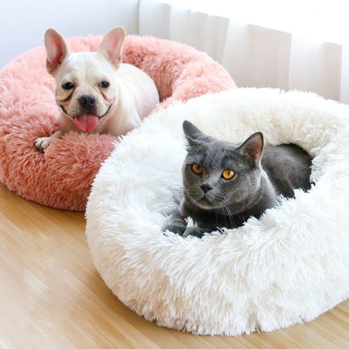 Luxury Dog Beds Pet Sleeping Plush