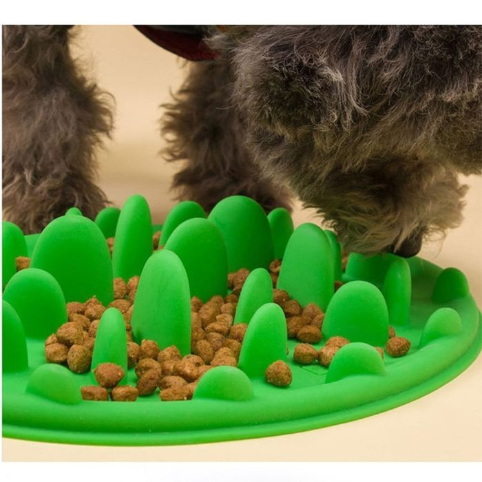 Slow Feeder Dog Bowl Anti-Choke Feeding