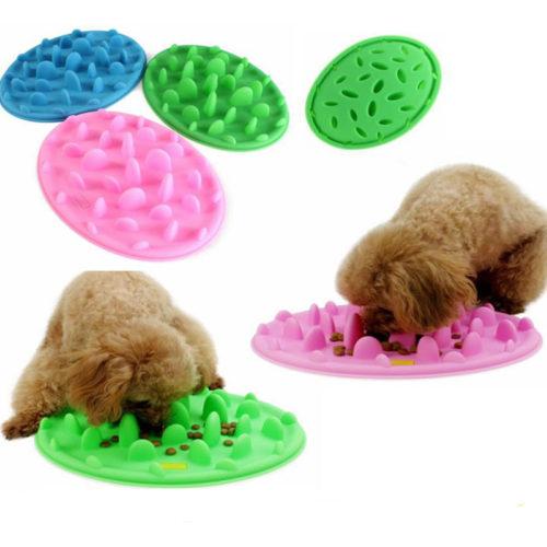 Slow Feeder Dog Bowl Anti-Choke Feeding