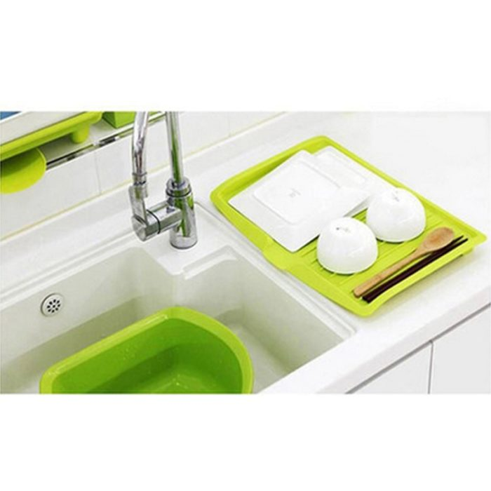 Over The Sink Dish Rack Drainer