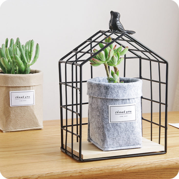 Plant Containers Table Decoration