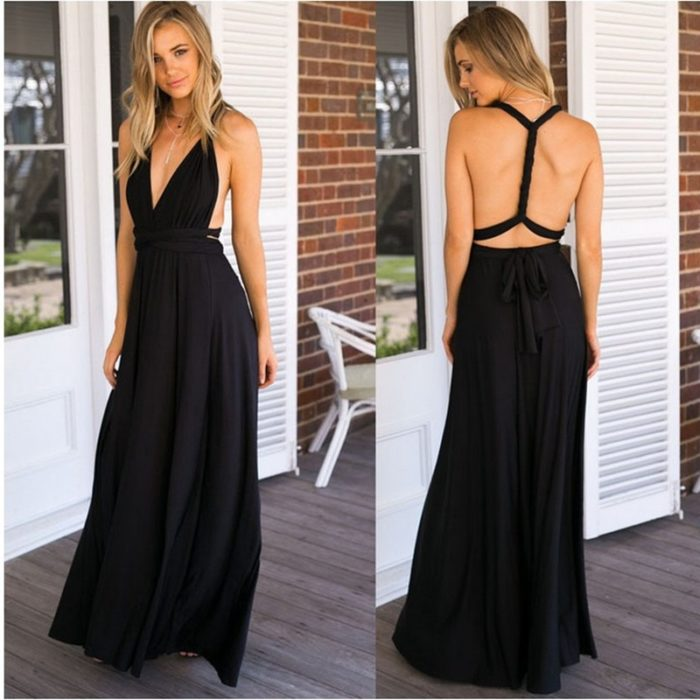 Multiway Dress Evening Gown