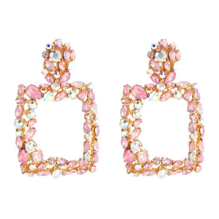 Crystal Earrings Fashion Jewelry