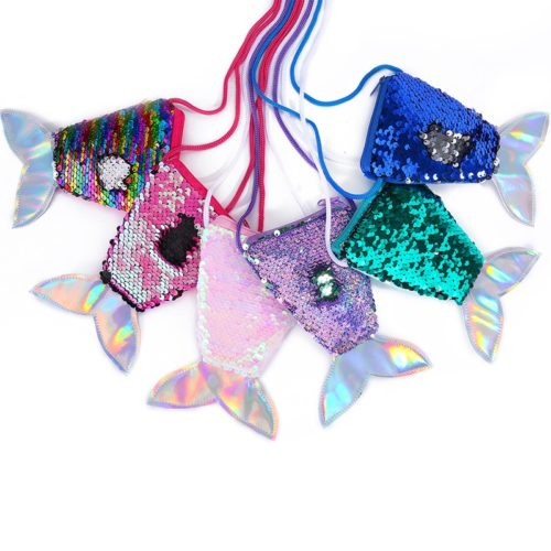 Coin Purse Mermaid Tail Sequins