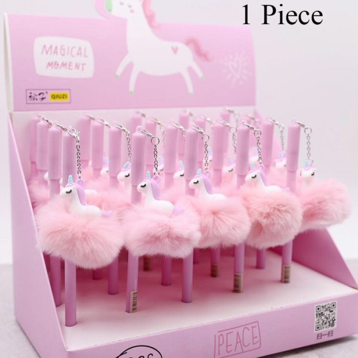 Sign Pen Gel Ink Cute Flamingo