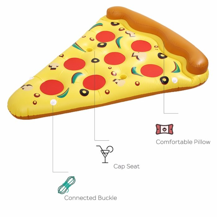 Pool Floats Inflatable Giant Pizza