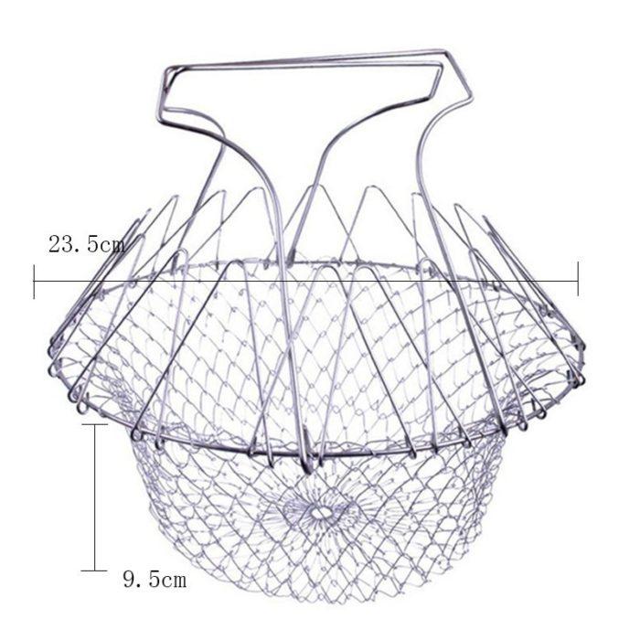 Basket Strainer Foldable Kitchen Tool