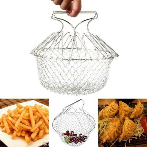 Basket Strainer Foldable Kitchen Tool