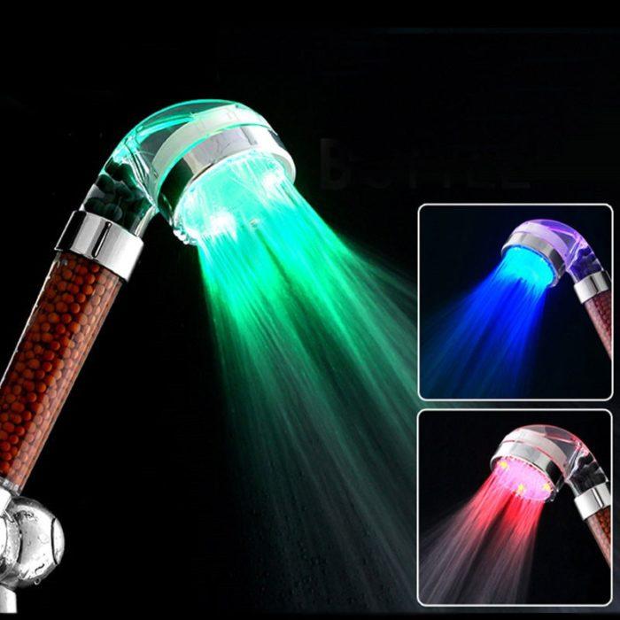 Handheld Shower Head Multicolor Lights