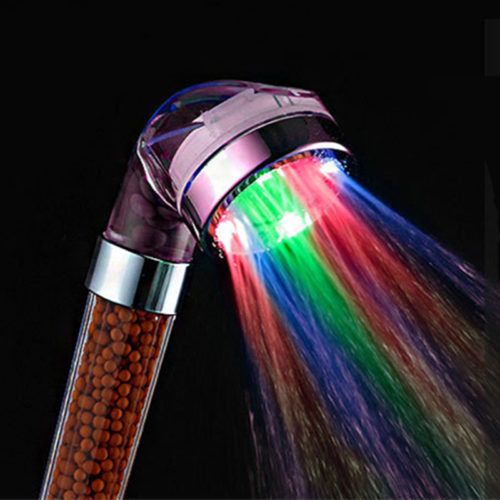 Handheld Shower Head Multicolor Lights