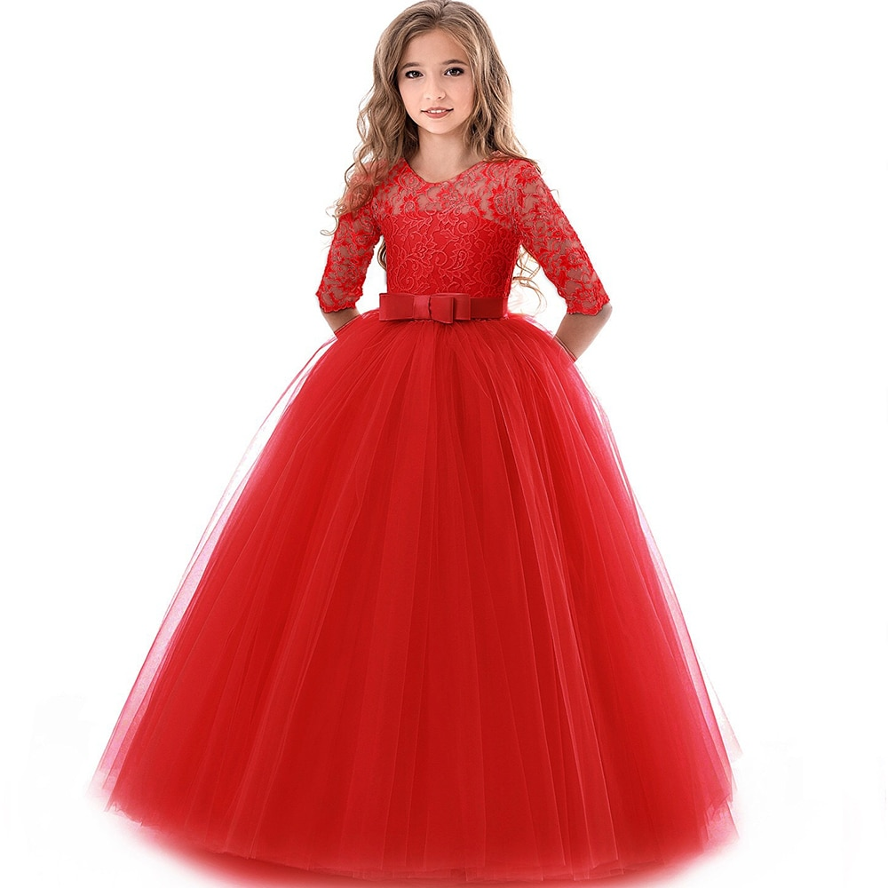 Little Girls Party Dresses Formal Wear - Life Changing ...