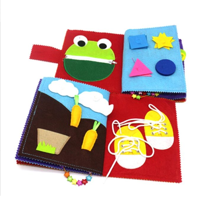 Activity Book Kids Soft Cloth