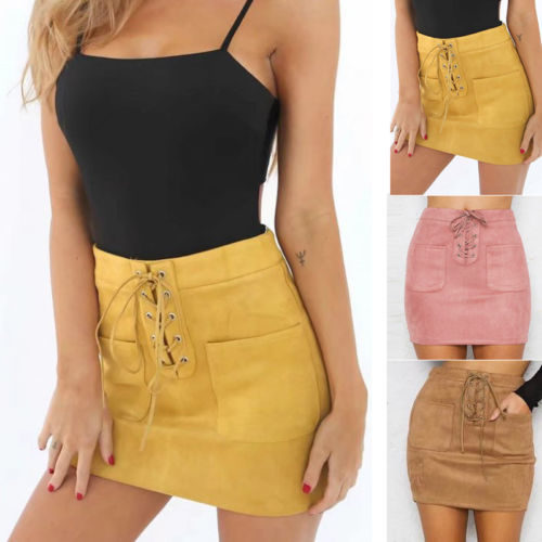 High Waisted Skirts Party Wear