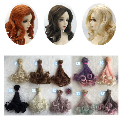 Doll Wigs Fashionable Accessories