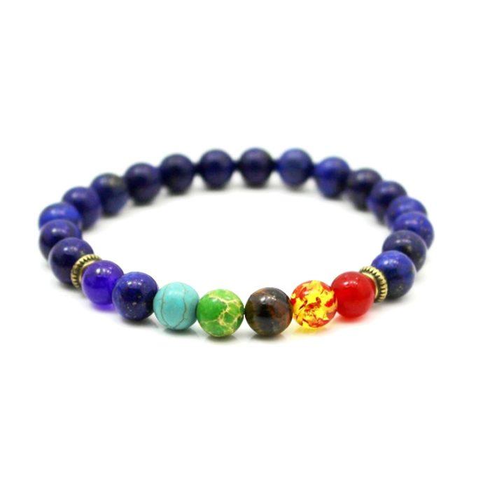 Chakra Stones Bracelet Healing Beads
