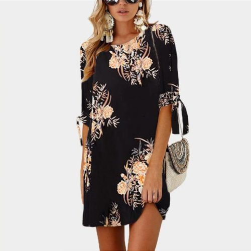 Boho Chic Dresses Floral Summer Wear