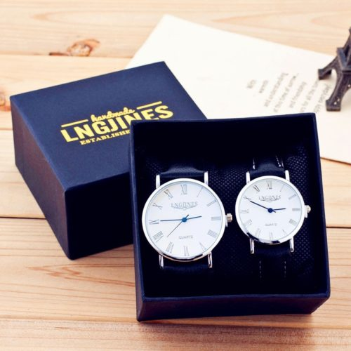 Couple Watch Set Men Women Pair
