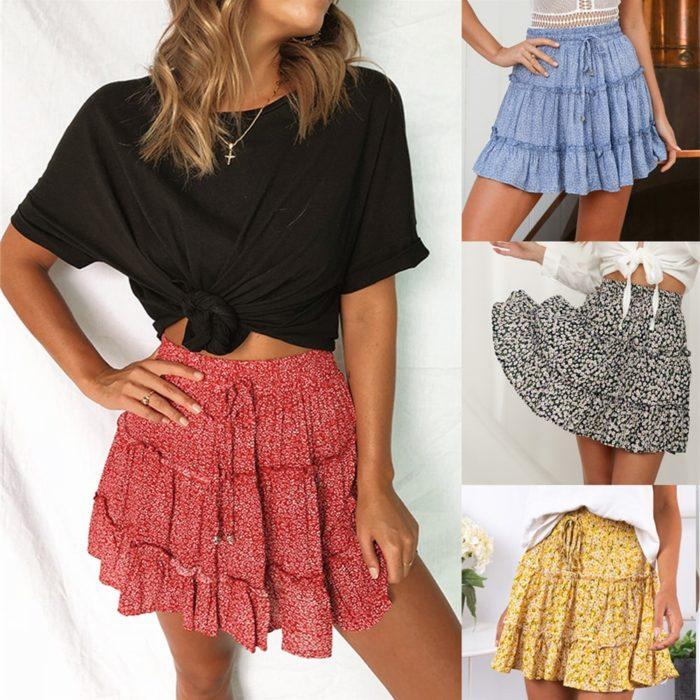 Frill Skirt Women's Casual Wear