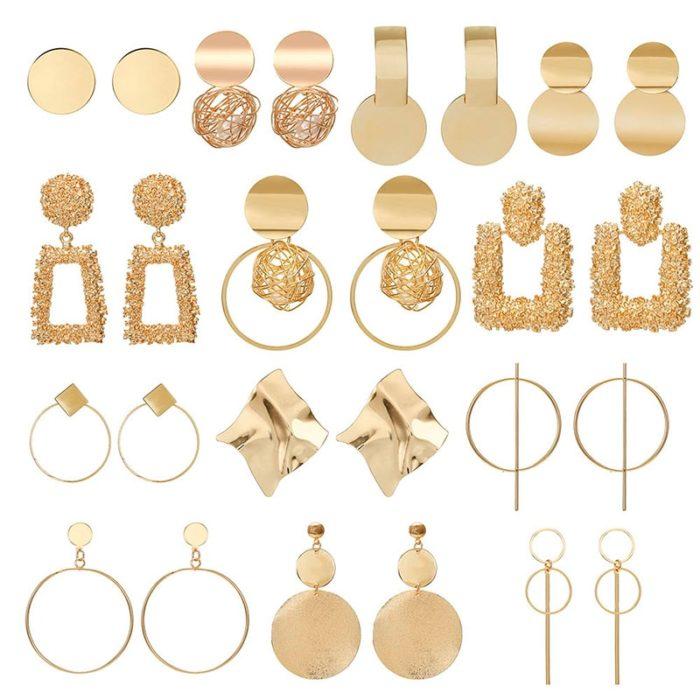 Big Earrings Ladies Accessories